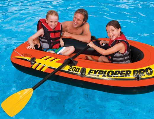 Barca hinchable Explorer PRO 200 Intex 58357