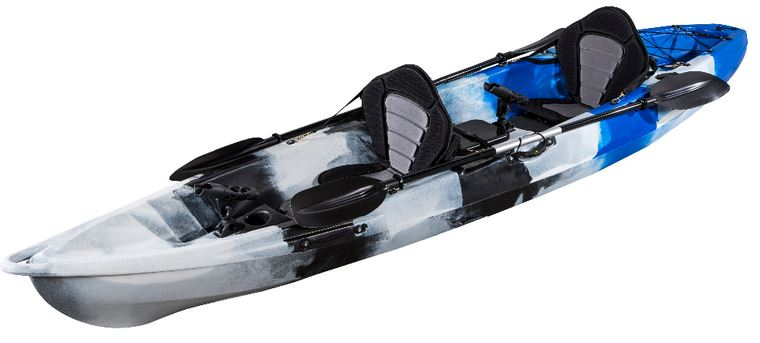 Kayak pesca dos personas