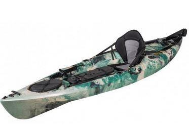 kayak de pesca PRO con timón