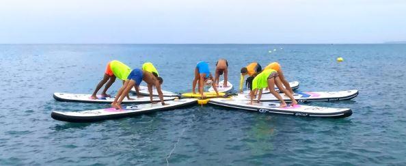 base tablas paddle fitness yoga