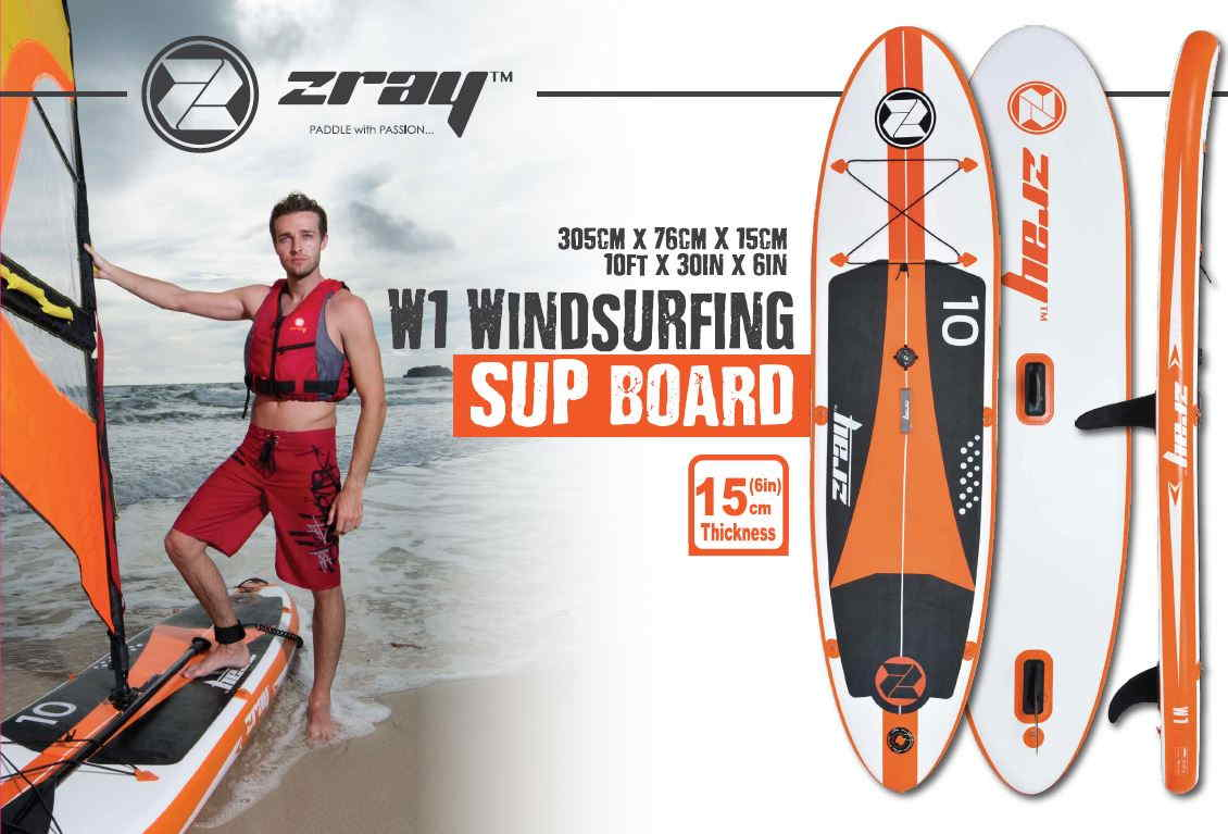 Tabla hinchable w1 paddle wind surf