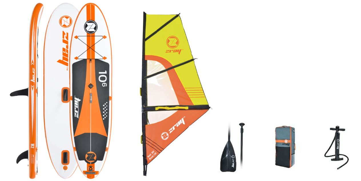 Tabla hinchable de paddle wind surf