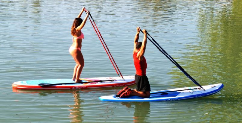 paddle yoga - paddle pilates