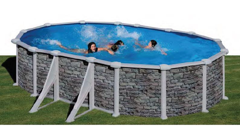 piscina desmontable de acero GRE Cerdeña