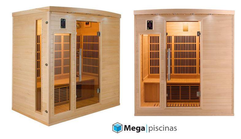 Sauna Apollon 3-4-5 plazas Infrarrojos