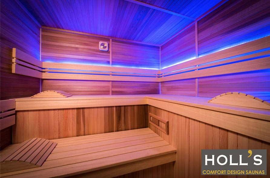 sauna Eccolo interior