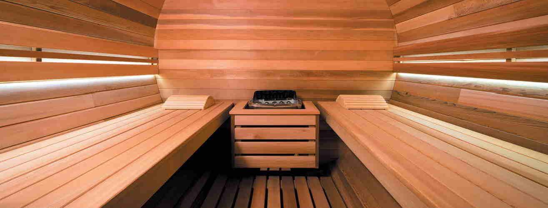 Sauna exterior de vapor Holl´s