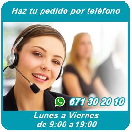 Llamanos por teléfono